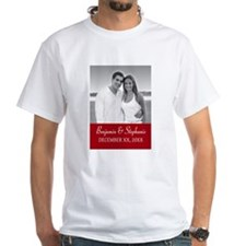 Wedding Photo Red T-Shirt