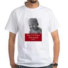 Baby First Christmas Red T-Shirt