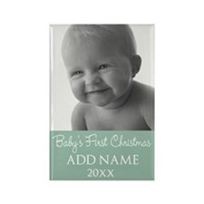 Add Baby Photo Mint Magnets