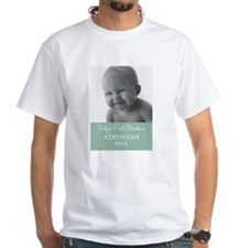 Add Baby Photo Mint T-Shirt