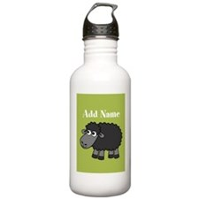 Black Sheep Add Name Lime Water Bottle