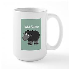 Black Sheep Add Name Mint Mugs