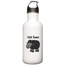 Black Sheep Add Name Water Bottle