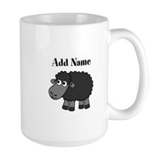 Black Sheep Add Name Mugs