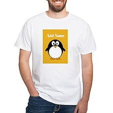 Modern Penguin Yellow T-Shirt