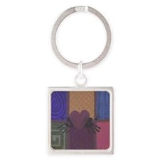 Commonality Square Keychain