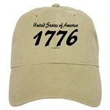 US of A 1776 Baseball Cap