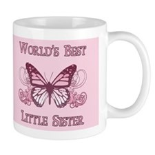 World's Best Little Sister (Butterfly) Mug
