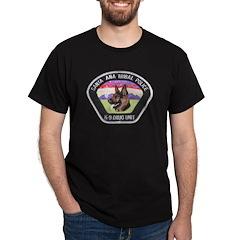 Santa Ana Tribal PD K9 Dark T-Shirt