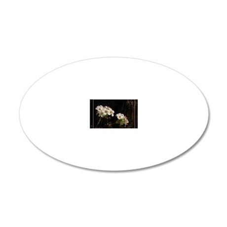 pearblossomsIMG_9507 20x12 Oval Wall Decal