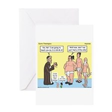 Sumo Theologica Greeting Card