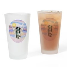 R-Clouds-Catahoula LD Angel Drinking Glass