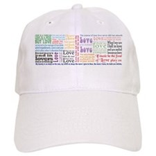 Shakespeare on Love Baseball Cap