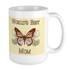 World's Best Mom (Butterfly) Mug