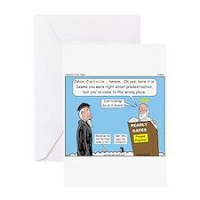 Calvin and Predestination Greeting Card