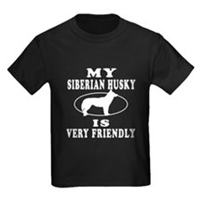 My Siberian Husky Is Very Friendly T