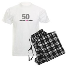 50 now the fun starts Pajamas