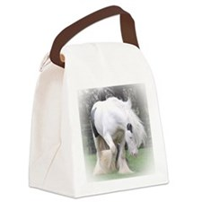 All Whites stallions Canvas Lunch Bag