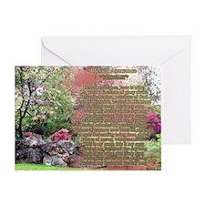 Blessed Assurance Hymn Spring Landscape Greeting C