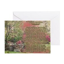 Blessed Assurance Aged Greeting Cards