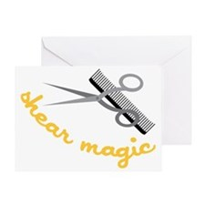 Shear Magic Greeting Card