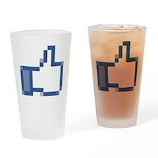 fb-thumbsup Drinking Glass