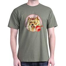 Yorkie Rose T-Shirt