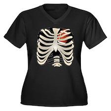Football Heart Plus Size T-Shirt