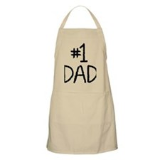 Number 1 dad Apron