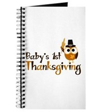 Baby's 1st Thanksgiving Owl Journal