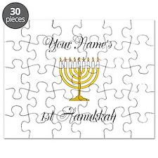 Custom 1st Hanukkah Puzzle