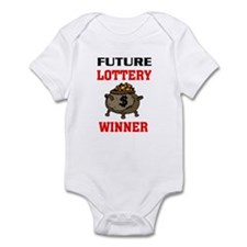 LOTTERY WINNER Infant Bodysuit