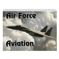 Air Force Aviation Wall Calendar