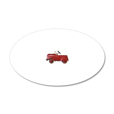 Cuba Old Timer 20x12 Oval Wall Decal