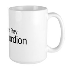 Real Men Play Accordion Mug