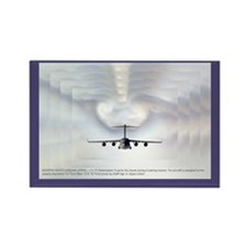 Globemaster Cloud Effect Rectangle Magnet (100 pac