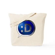 Bubble-Silver-BlueCrush-Laugh Tote Bag