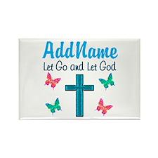 TRUST GOD Rectangle Magnet