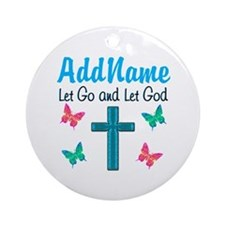 TRUST GOD Ornament (Round)