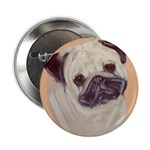 Typical Chinese Pug Button