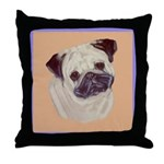 Typical Chinese Pug Throw Pillow