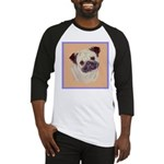Typical Chinese Pug Baseball Jersey