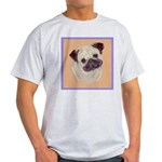 Typical Chinese Pug Ash Grey T-Shirt