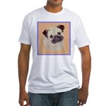 Typical Chinese Pug Fitted T-Shirt