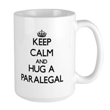 Keep Calm and Hug a Paralegal Mugs