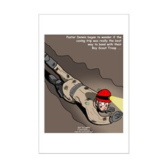 Spelunking Minister Posters