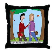 Seminary Faith Throw Pillow