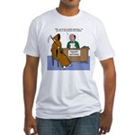 Death Applies to Seminary Fitted T-Shirt