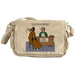Death Applies to Seminary Messenger Bag
