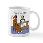 Death Applies to Seminary Mug